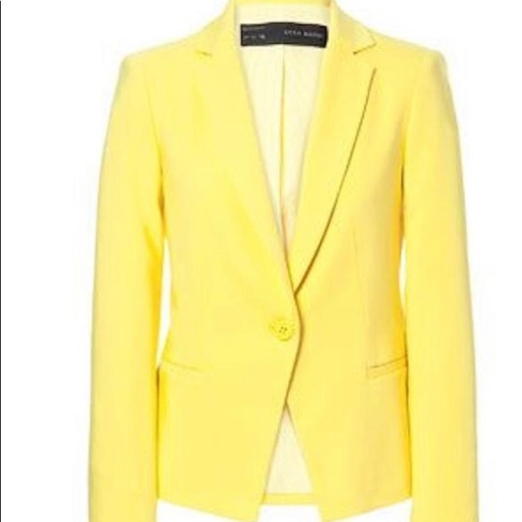 Zara Jacket in Canary Yellow